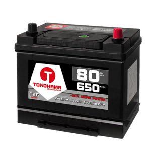 Tokohama Asia 80 Ah 12 V PPR Autobatterie