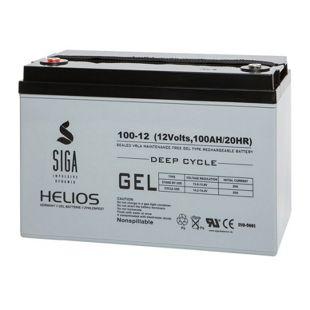 SIGA Helios 100 Ah 12 V VRLA Gel-Batterie