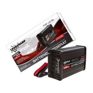 Loadchamp LC7.0 Automatik-Batterie-Ladegerät, 7 A