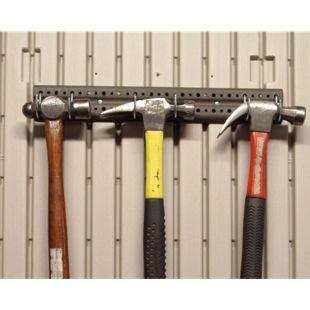 Lifetime Werkzeughalteleiste für Kunststoff-Gerätehäuser