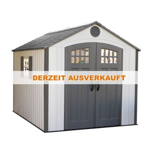 Lifetime Kunststoff-Gerätehaus Kraftwerk