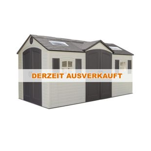 Lifetime Kunststoff-Gerätehaus Residenz