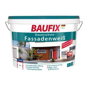 BAUFIX Dauerschutz-Fassadenweiß, 10 L
