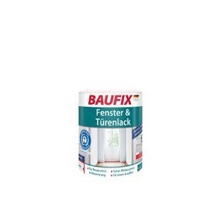 BAUFIX Fenster & Türenlack weiß seidenmatt, 1 L