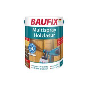 BAUFIX Multispray-Holzlasur palisander, 5 L