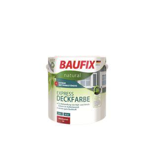 BAUFIX natural Express-Deckfarbe dunkelgrau, 2,5 L