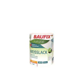 BAUFIX natural Weißlack seidenglänzend, 0,75 L