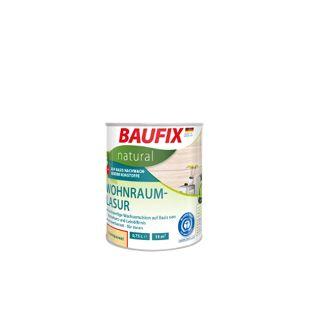 BAUFIX natural Wohnraumlasur weiß, 0,75 L