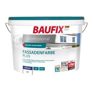 BAUFIX professional Fassadenfarbe Plus, 10 L