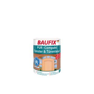 BAUFIX PU Compakt Fenster- & Türenlasur palisander, 1 L