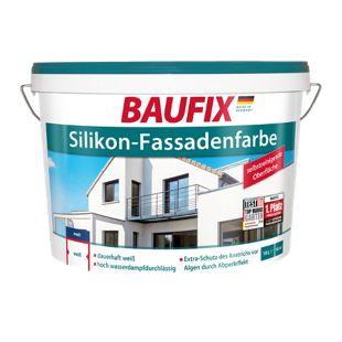 BAUFIX Silikon-Fassadenfarbe weiß, 10 L