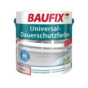 BAUFIX Universal-Dauerschutzfarbe hellgrau, 1 L