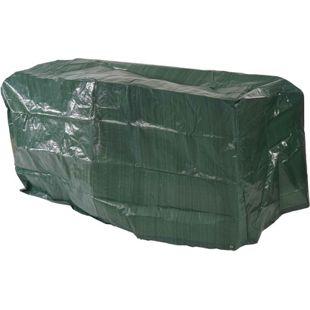 Abdeckhaube Schutzplane Hülle Regenschutz für Gartenbänke, 180x70x89cm