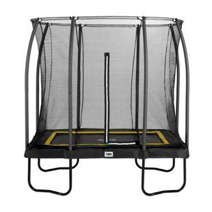 Salta Trampoline - Comfort Edition - rechteckig - 153 x 214cm - 5x7ft - Schutzrand Schwarz