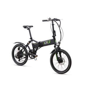 LLobe Alu Elektro Faltrad 20 Zoll City III, 7 Gang Shimano-Schaltung schwarz