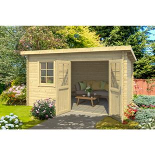 Outdoor Life Gartenhaus Balestrand 28 mm, ohne Fußboden