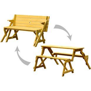Dobar 2in1 Picknicktisch und Sitzbank