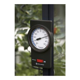 Juliana Min-Max Thermometer, schwarz