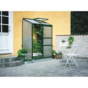 Juliana Wandgewächshaus Altan 2 - 2 Sekt. mit 4 mm Stegdoppelplatten, grün