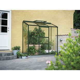 Juliana Wandgewächshaus Altan 3 - 3 Sekt. mit 3 mm Blankglas, grün