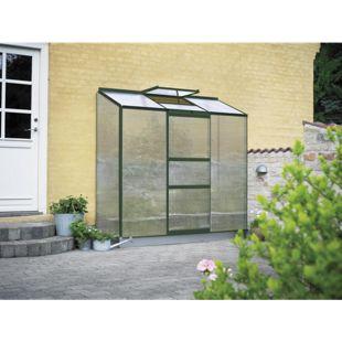 Juliana Wandgewächshaus Altan 3 - 3 Sekt. mit 3 mm Stegdoppelplatten, grün