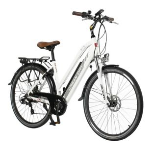 "AsVIVA  E-Bike CityBike 28"" B15-D 36V Trekkingrad Elektrofahrrad Pedelec weiß"