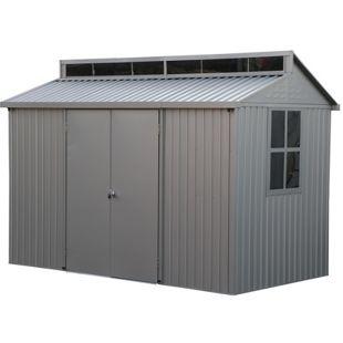 Tepro Metallgerätehaus Alu Shed 10x8