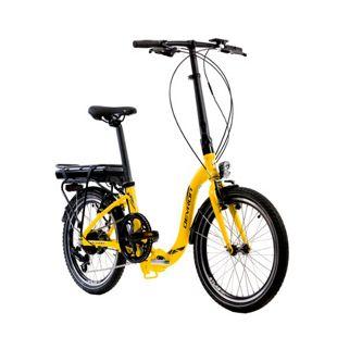 "Devron City 20"" foldable yellow"