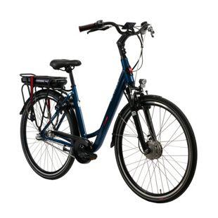 Devron E-Bike City bleu 28124A