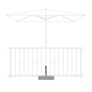 Doppler Balkon-Granitsockel