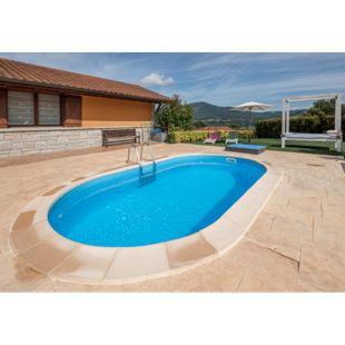 Gre Einbaupool-Set Anguilla, 500x300x150 cm