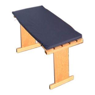 Promadino Sitzauflagen für Balkongarnitur, blau