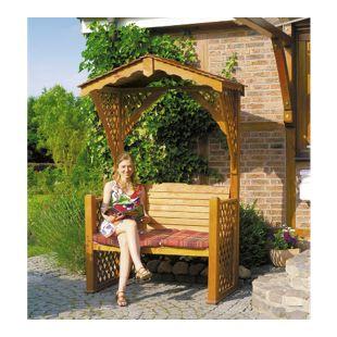 """Promadino Gartenlaube """"Starnberg"""" mit Sitzauflage"""