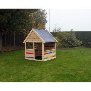 COLOR YOUR OWN Spielhaus CYO Korpus:natur/ PVC:multi