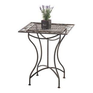 CLP Eisentisch ASINA im Jugendstil I Robuster Gartentisch mit kunstvollen Verzierungen