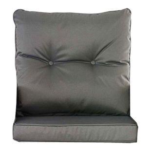 CLP 10er Kissen Set für Gartengarnitur FISOLO Flachrattan, aus 100 % Polyester, bis zu 5 Farben wählbar