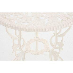 CLP Garten-Sitzgruppe GANESHA I Garten-Set bestehend aus zwei Stühlen und einem Tisch I Gartenmöbel aus Aluminium I In verschiedenen Farben erhältlich
