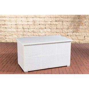 CLP Polyrattan-Aufbewahrungsbox SAFE I Gartentruhe für Kissen und Auflagen I In verschiedenen Farben erhältlich