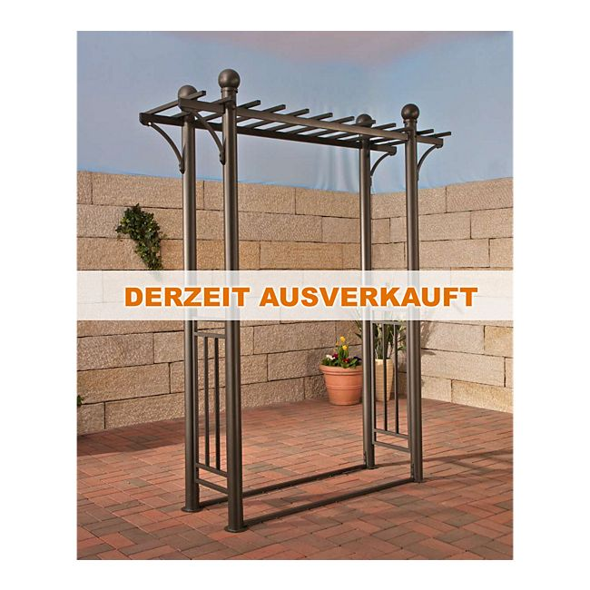 clp pergola ulpgar 03 aus beschichtetem eisen h he 220 cm. Black Bedroom Furniture Sets. Home Design Ideas