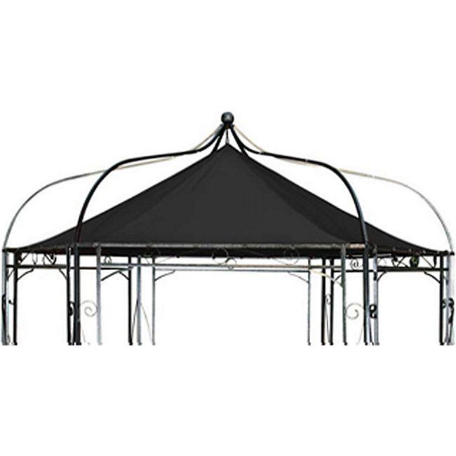 clp ersatzdach f r 6 eckigen pavillon textil dach f r. Black Bedroom Furniture Sets. Home Design Ideas