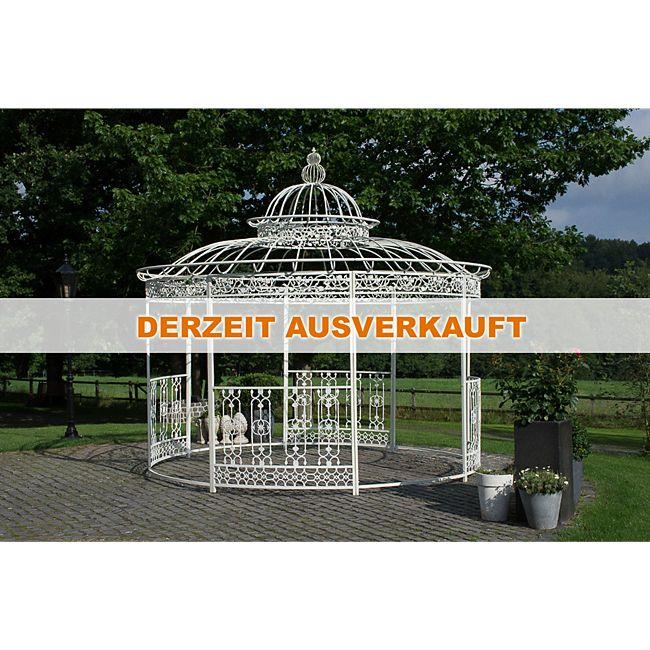 CLP wunderschöner LUXUS Pavillon ROMANTIK, aus stabilen Eisen ...