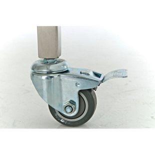 CLP Edelstahl Spanferkel-Grill BARNY - mit Motor | Holzkohlegrill | mehrere Funktionen | Aufsteckfläche: 101 cm | Belastbar bis 70 kg