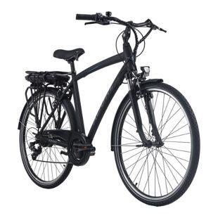 Adore Pedelec E-Bike Cityfahrrad 28'' Adore schwarz-blau