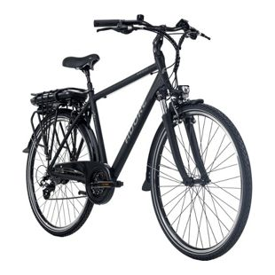 Adore Pedelec E-Bike Herren Cityrad 28'' Adore Marseille schwarz