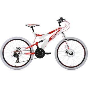 "KS Cycling Jugendfahrrad Mountainbike Fully 24"" Topeka"