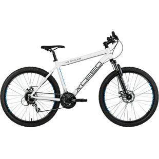 KS Cycling Hardtail Mountainbike 24 Gänge Xceed weiß 27,5 Zoll