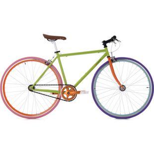 KS Cycling Fixie Essence 28 Zoll Fahrrad Fixed Gear
