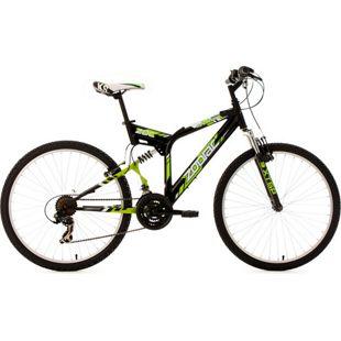 KS Cycling Mountainbike Fully 26 Zoll Zodiac 21 Gänge