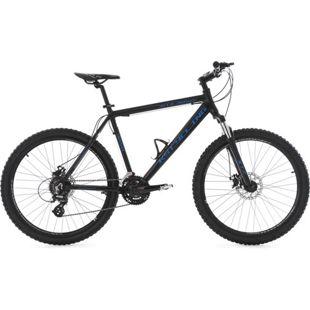 KS Cycling Mountainbike Hardtail 24 Gänge GTZ 26 Zoll schwarz-blau