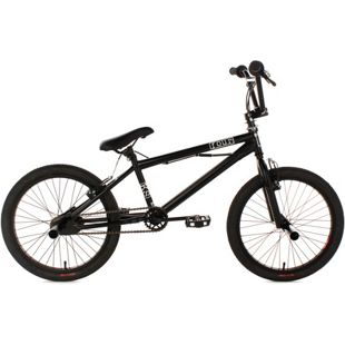 KS Cycling BMX Freestyle 20'' Four schwarz